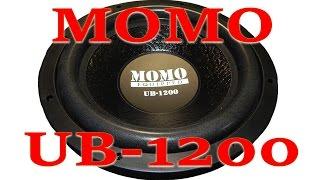 Обзор автомобильного сабвуферного динамика MOMO UB 1200