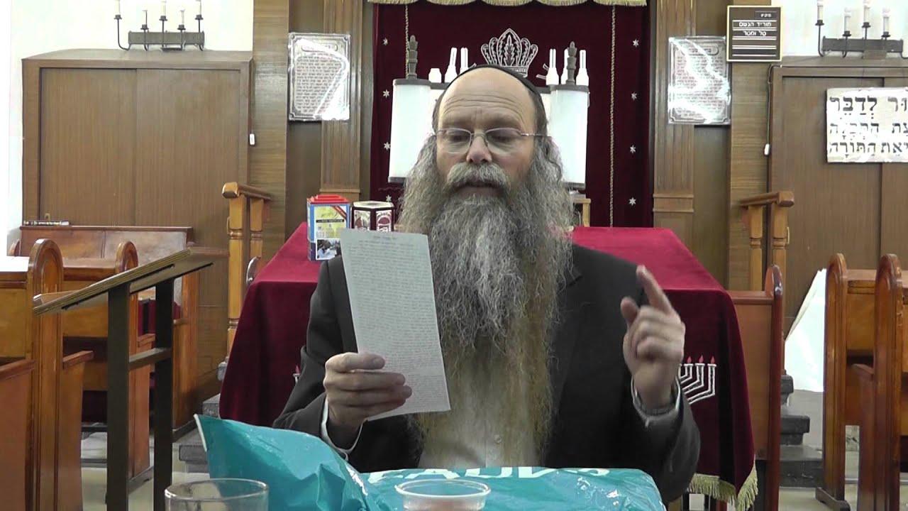 הרב דוד דודקביץ' - פרשת ויגש