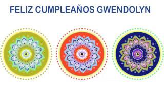 Gwendolyn   Indian Designs - Happy Birthday