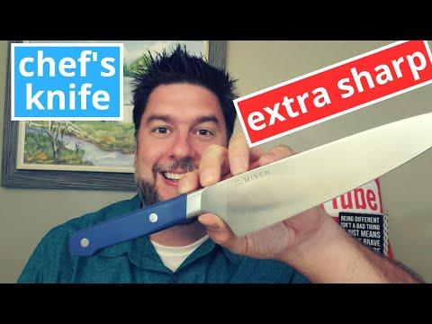 Misen Chef's Knife Review: Misen's new chef Knife