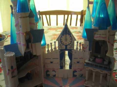 1996 Trendmaster Polly Pocket Disney Cinderella Light Up