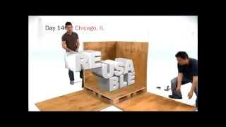 Snapcrate Reusable Wooden Shipping Crate