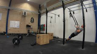 Squat and pull circuit three