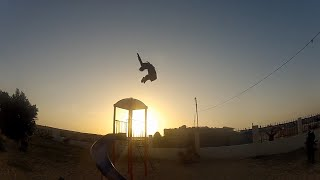Gaza Parkour And Free Running 2013-2014 Part 1 (HD1080)