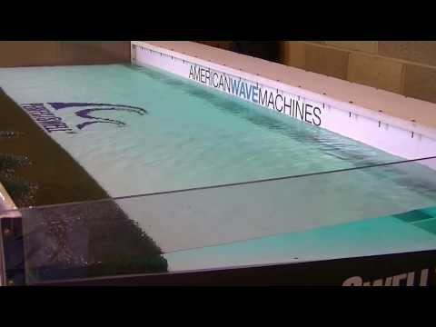 Wave Pool Demo and Interviews with American Wave Machines 2013