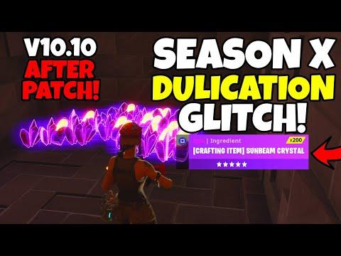SEASON X DUPLICATION GLITCH  AFTER PATCH! (Solo Duplication Glitch) Fortnite Save The World
