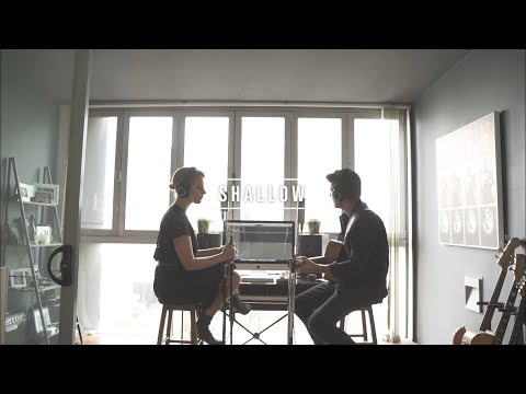 SHALLOW (A Star is Born) Acoustic Duet Cover | Jess & Matt