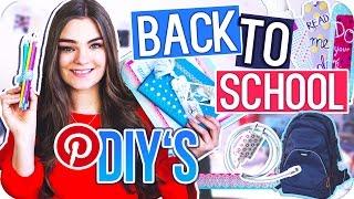 5 BACK TO SCHOOL DIY's - Kreative Pinterest Ideen zur Organisation & Verlosung // I'mJette