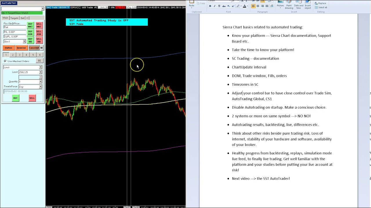Create and run your own automated trading strategies in