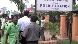 Repeat youtube video Protest Against Sri Lanka Police(Full Vedio)