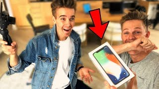 JOE SUGG GOT ME THE IPHONE X
