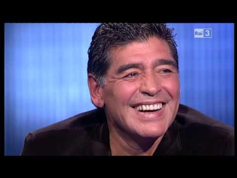 Diego Armando Maradona - Che tempo che fa 20/10/2013