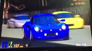 Gran Turismo 3 Elise 190, The Lotus Elise Sonic Heroes Racing's 1/9 ⭐️ 🏁