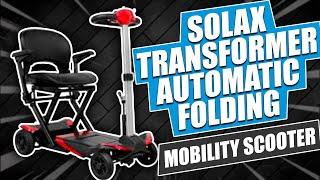 Solax Transformer Automatic Folding Mobility Scooter