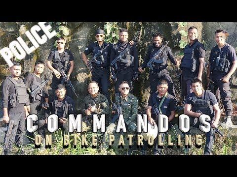 COMMANDOS ON BIKE PATROLLING   Police Life   IPS   Patroller Cop   Anand Mishra IPS