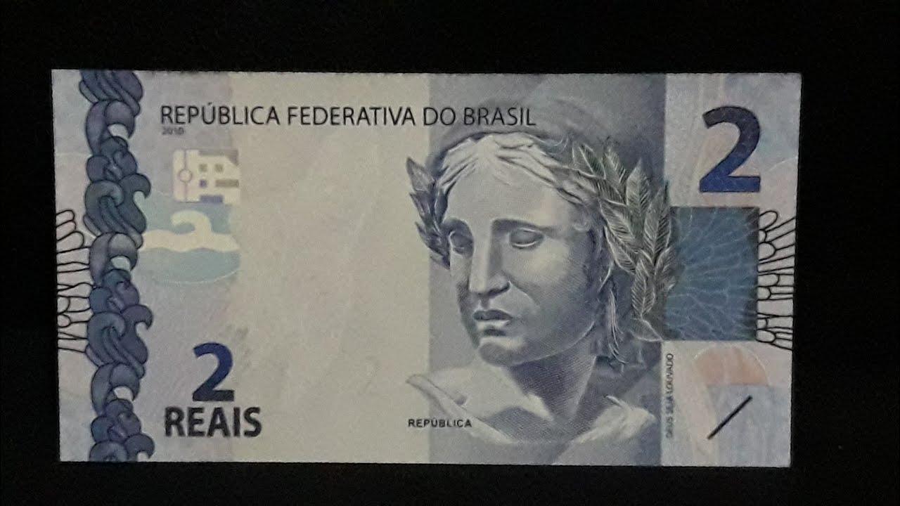Cédula rara de 2 reais valor - 500,00 reais !!! Aprenda identificar