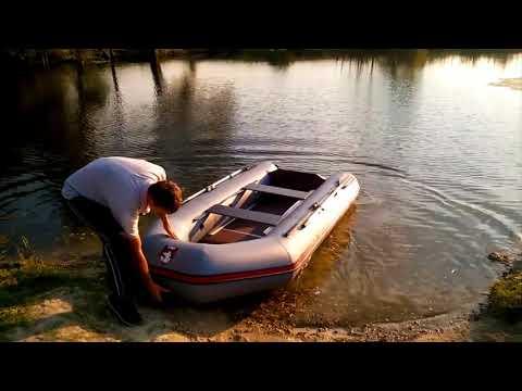 Лодка ПВХ Хантер 320 ЛК - реальный отзыв владельца после сезона