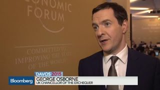 U.K.'s George Osborne: ECB Action Necessary, Insufficient for Recovery