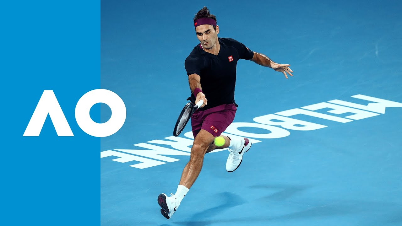 Roger Federer Best Shots Australian Open 2020 Youtube