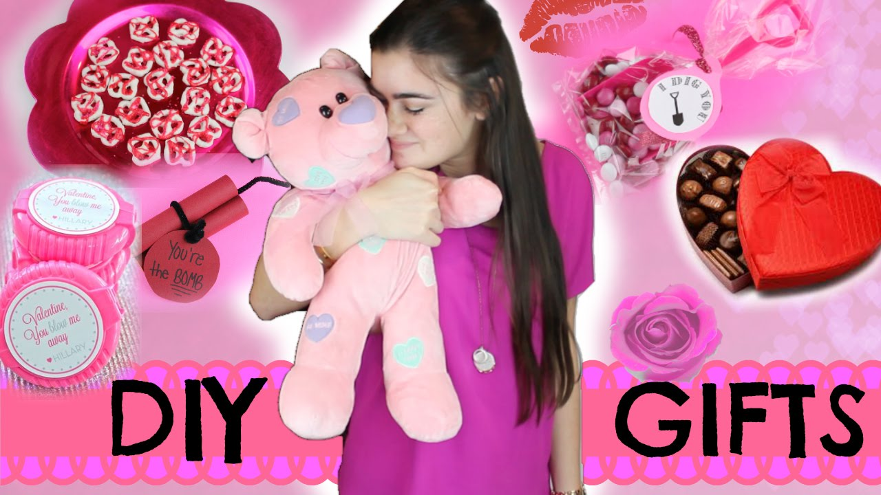 Diy Quick And Easy Valentine S Day Gifts Youtube