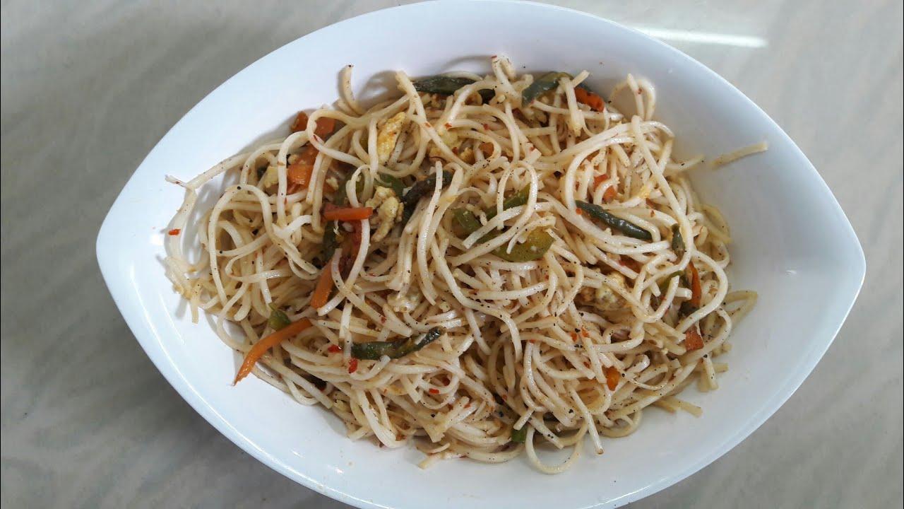 Egg Noodles recipe in Tamil | How to make Egg Noodles in ...