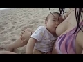 Jessica on Babies Life Shots: Breast Feeding at the Beach