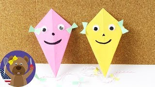 Video Make a super cool Kite as decoration | Nice idea for the Fall | Really easy idea for kids download MP3, 3GP, MP4, WEBM, AVI, FLV Juni 2018