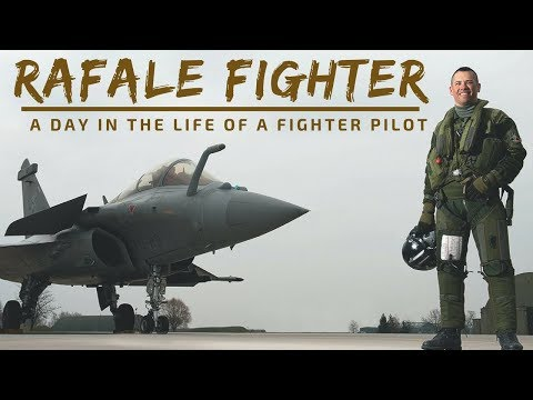 Rafale Fighter Jet - A Day in the Life of a Fighter Pilot