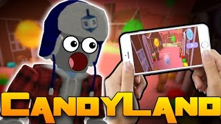 ROBLOX NA MOBILU? - Roblox Candyland Tycoon!