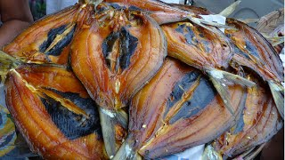 dried fish the traditional methods as drying, smoking and salting