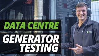 A DAY in the LIFE of the DATA CENTRE | GENERATOR TESTING with ASH!