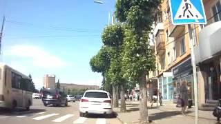 Улица Горького. Рязань. Избиение пешехода(, 2016-06-03T07:25:19.000Z)
