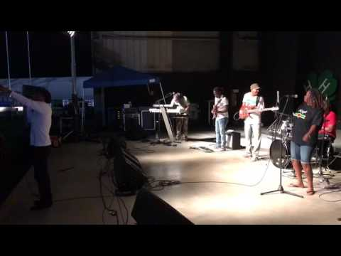 Indika Band performs @ South Bend Indiana Festival.