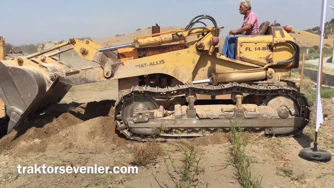 fiat allis fl 14 b youtube fiat allis fl 14 b