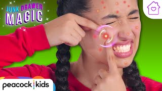 Pimple Popper | Kids Magic at Home | JUNK DRAWER MAGIC #stayhome #withme