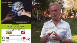 IPB Weltkongress Berlin - Einladung Friedensaktivisten aus der gesamten Welt kennenzulernen