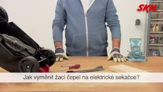 Jak vyměnit žací čepel na elektrické sekačce?