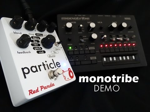 Red Panda PARTICLE - Monotribe demo