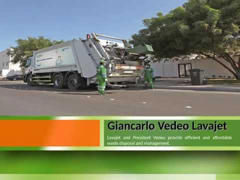 Giancarlo Vedeo of Lavajet - Waste management expert