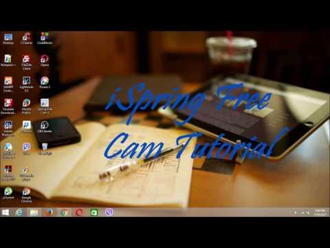iSpring Free Cam Full Tutorial- 2017 - YouTube