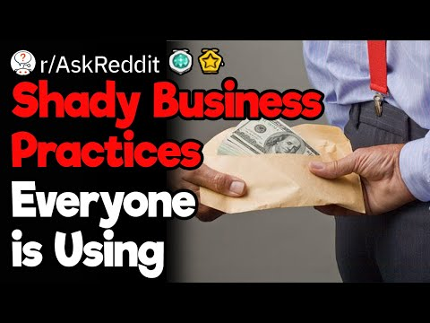 Shady Business Behavior You Find Very Often
