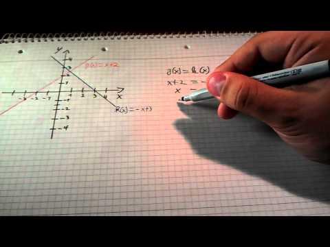 Schnittpunkt zweier Geraden berechnen - Anleitung: Schnittpunkt zweier Geraden berechnen from YouTube · Duration:  3 minutes 48 seconds