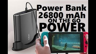 Omars Portable Power Bank 26800 mAh & 22000 mAh ON THE GO CHARGER Review