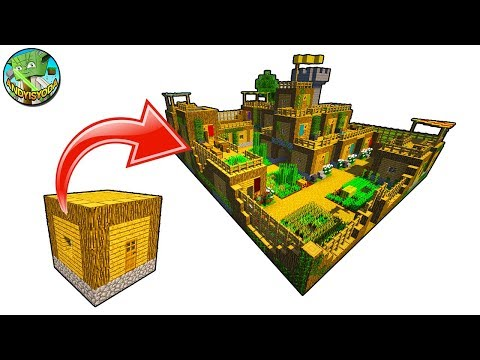 How to make a Village from a Minecraft 5x5 House