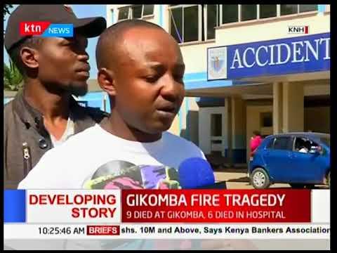 KNH: Victims of Gikomba Market Fires have massive burns