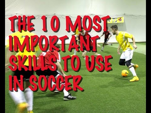 Soccer Skills - The 10 Most Important Soccer Skills - 동영상