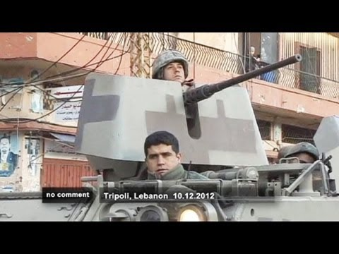 Deployment of Lebanese army in Tripoli - no comment