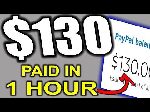 MAKE $130 in 1 Hour Watching Videos   Make Money Online (WORLDWIDE)