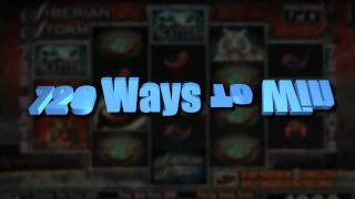 Siberian Storm Video Slots - Cool cats and Hot Wins with Siberian Storm Slot Machine