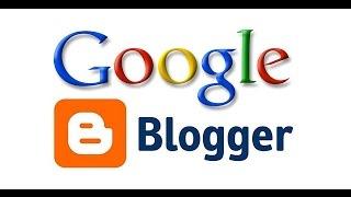 comment faire un blog avec Blogger ?